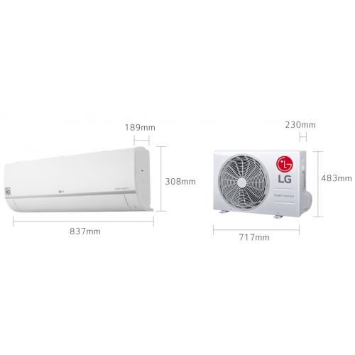 LG Standaard PLUS - PC12SQ - 3,5KW