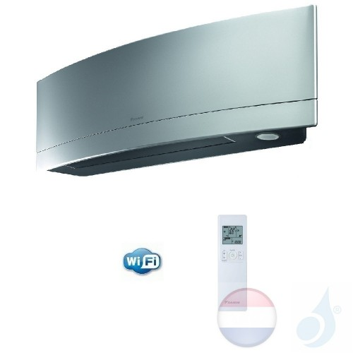 Daikin FTXJ25MS 2.5 kW Binnendelen Multi Split Air Conditioner Muur Gas R-32 Serie Emura FTXJ-MS WiFi 9000 Btu