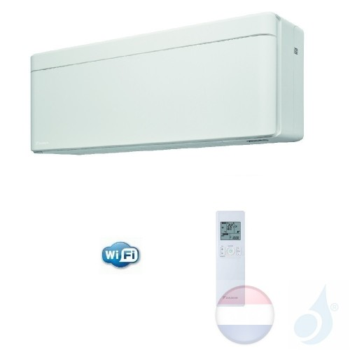 Daikin FTXA20AW 2.0 kW Binnendelen Multi Split Air Conditioner Muur Gas R-32 Serie Stylish FTXA-A WiFi kleur Wit 7000 Btu