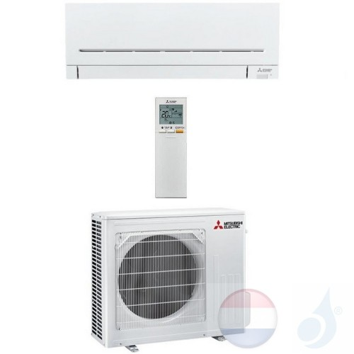 Mitsubishi MSZ-AP50VG MUZ-AP50VG 5.0 kW Mono Split Air Conditioner Gas R-32 kleur Wit WIFI OPT. A++/A++ 18000 Btu WSH-AP50i