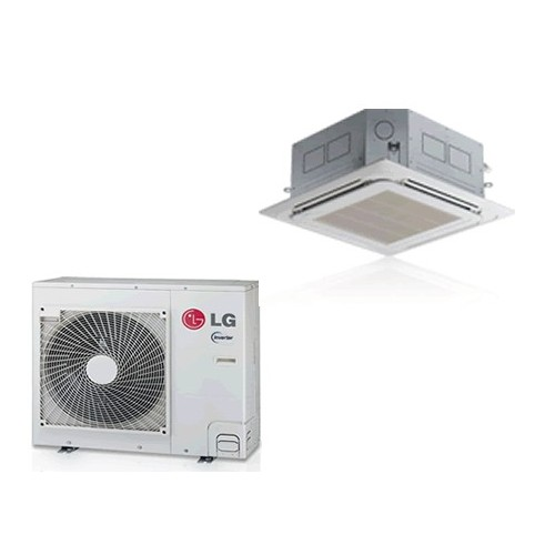3,5 KW LG cassette airconditioner inverter LG-UT12